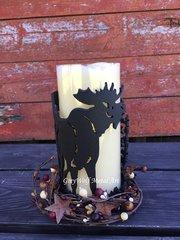 Moose- Candle Holder