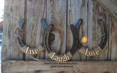 Live, Laugh, Love- Black