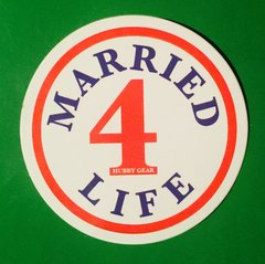 MARRIED 4 LIFE - STICKER