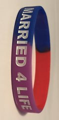 ARMBAND (#8) - BLUE, RED, PURPLE