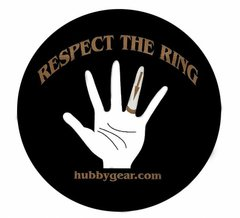 RESPECT THE RING - STICKER