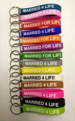 MARRIED 4 LIFE - KEYCHAIN