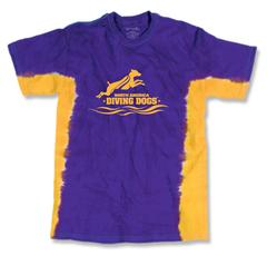 Tie Dye - Purple/Yellow