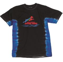Tie Dye - Black/Blue