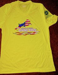 NADD Bright Yellow Flag Womens