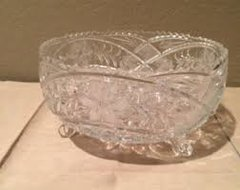'Lead Crystal Candy Dish'