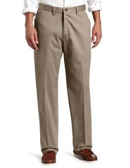 Lee Relaxed Fit Flat Front Mens Pants Sz 33 x 32