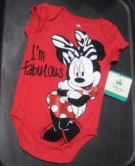 'Girls Disney Baby Bodysuit' 0/3M