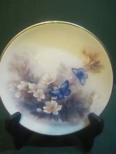 "Lena Lici ""Blossoms And Butterflies"" Decorative Plate"