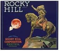 'Rocky Hill' Orange Crate Label