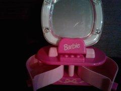 'Avon Barbie Light Up Mirror'
