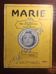 Original Vintage Sheet Music: 'Marie' 1928