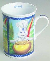 'Pillsbury Dough Boy Mug Collection -March'