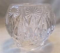 'Avon Vintage Crystal Candle Holder'