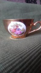 'Gold Victorian Teacup' #145