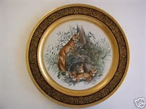"""The Red Fox"" Pickard China Collector Plate"