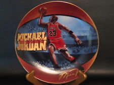 'Michael Jordan Collectible Plate'