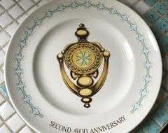 'Avon Second Anniversary Plate'