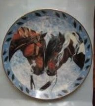 Warriors Truce Collectible Plate