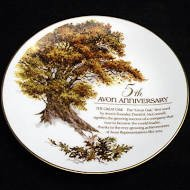 'The Great Oak' Collectible Plate