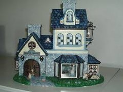 Partylite 'Candle Shoppe Tealight House'