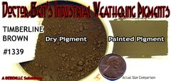 Timberline Brown Weathering Pigment-2oz Doctor Ben's Scale Consortium