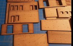 Modular Brick Wall Sections !!