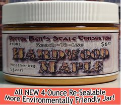 Hardwood Maple Weathering Stain-4oz Doctor Ben's Scale Consortium