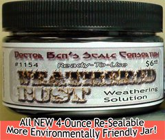 Weathered Rust-4oz Doctor Ben's Scale Consortium