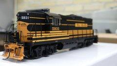 Athearn Genesis Ho Scale Denver & Rio Grande GP9 DCC & Sound