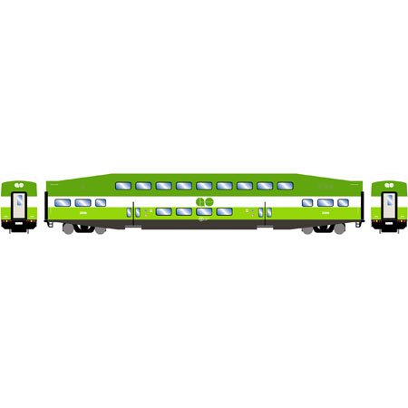 Athearn RTR Bombardier Modern Paint Scheme GO Transit Coach #2428