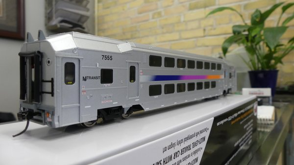 Atlas Ho Scale NJ Transit Multi-Level Trailer