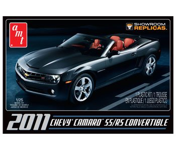 AMT 1/25 Scale 2011 Camaro Convertible SS/RS