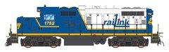 Intermountain GP10 Railink #1752 DCC & Sound W/Ditchlights