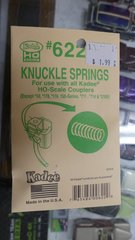 HO Scale Kadee #622 Replacement Knuckle Spring for Standard Head Couplers