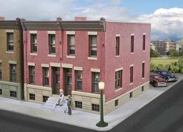 Walthers Cornerstone HO Scale Row House