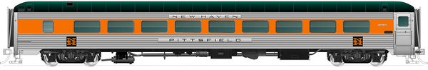 Rapido Ho Scale 36-Seat Parlor – New Haven MGinnis (no skirts)