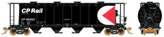 Rapido Ho Scale 3800 Cu. Ft. Cylindrical hopper CP Multimark Early 6 Packs *Pre-order*