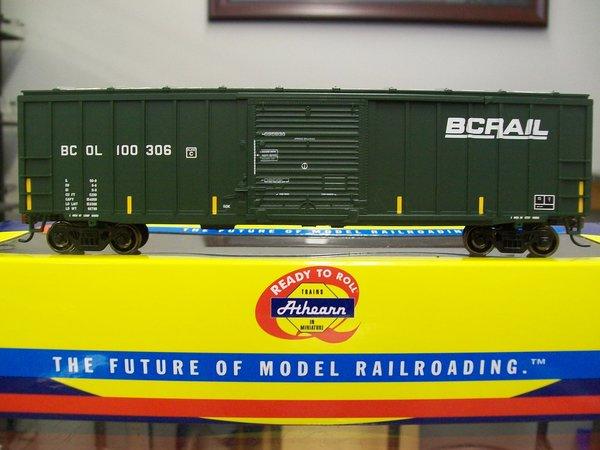 Athearn RTR 50' ACF Box Car BC Rail