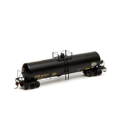 Athearn Ho Scale RTR 20,900-Gallon Tank, UTLX/Black
