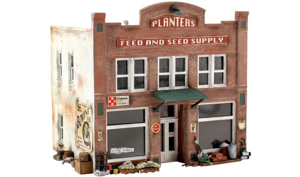 Woodland Scenics Planters Feed & Seed Building Kit