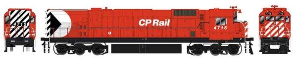 """Bowser HO Scale CP Rail M636 8"""" Stripe W/ Water Tank DCC Ready (Air Start)"""