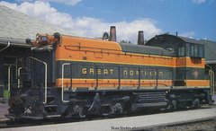 Walthers Proto SW1200 Great Northern DCC & Loksound *Pre-order*