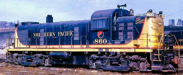 Bowser HO Scale RS-3 Northern Pacific DCC & Sound *Pre-order*