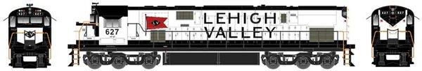 Bowser Ho Scale C628 Lehigh Valley Snowbird Paint Scheme DCC Ready *Pre-Order*
