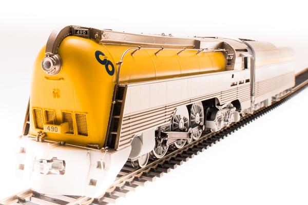 Broadway Limited Ho Scale Chesapeake & Ohio L-1 4-6-4 Yellow Brass Hybrid B&O Museum Version #490