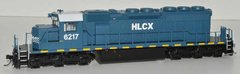 Bowser (2nd Release) Ho Scale HLCX SD40-2 DCC Ready W/Ditchlights