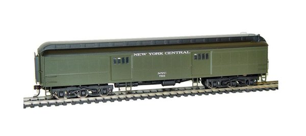 Rivarossi HO Scale Baggage 60FT - New York Central - Car #7411