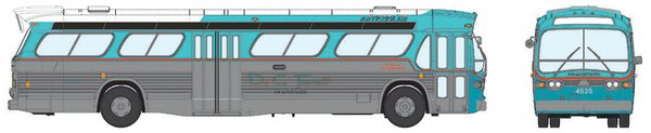 Ho Scale Rapido DC Transit GMC Bus Deluxe Edition *Pre-Order*