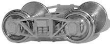 Ho Scale Tahoe Model Works AC&F Archbar trucks